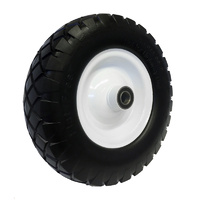 "Easyroll 400x8"" Puncture Proof Wheel Precision Bea"