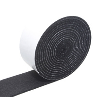 Feltgard Black 3M Adhesive Felt Roll for Hard Surf