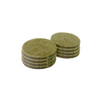 Surface Gard 38mm Round Self Adhesive Felt Pads 8P