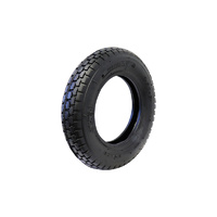 Easyroll 220mm Black Rubber Pneumatic Spares 140kg