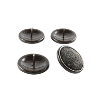 Surface Gard 34mm Brown Carpet Based Round Nail in