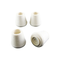 Surface Gard 13mm White External Round Chair Tips