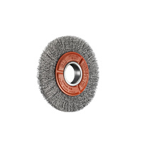 SIT Steel Crimped Wire Wheel- 125mm x 16mm 1PC