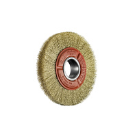 SIT Brass Crimped Wire Wheel - 200mm MULTI 1PC