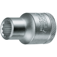 Gedore 1/2Inch Square Drive - 9/16Inch 1PC No.6139