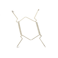 Everhang Plate Wires Drywall Hangers - Brass 1PC