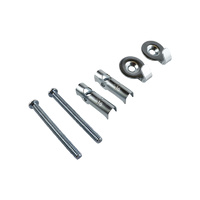 Everhang Gravity Bolt with Hooks - Silver 2PCS