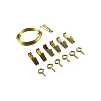 Everhang Picture Hanging Kits - Brass 1 Kit
