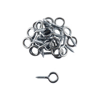 Everhang Screw Eyes - Silver 25PCS