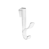 Adoored Over The Door Hooks - Clear 1PC