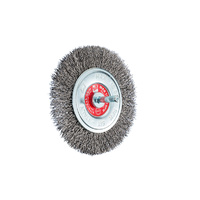 SIT Steel Crimped Mounted Brush- 100mm x M6 1PC