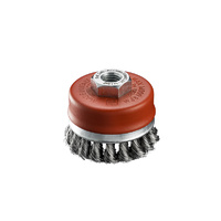 SIT Steel Twist Knot Cup Brush- 70mm x M14 1PC