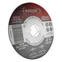 Rocket 100mm Cutting Discs - Stainless Steel Suits