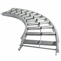 Easyroll 90Degx300mm Steel Curved Conveyor Frame- 1