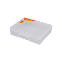 Fischer Clear Compartment Boxes (1 Compartment) 19
