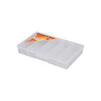Fischer Clear Compartment Boxes (5 Compartment) 18