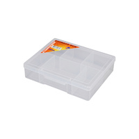 Fischer Clear Compartment Boxes (6 Compartment) 19