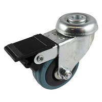 Easyroll 50mm Grey Rubber G1 Series Castors 40kg 1