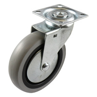 Easyroll 100mm Grey Rubber G1 Series Castors 55kg