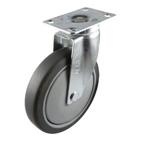 Easyroll 150mm Grey Rubber G6 Series Castors 120kg