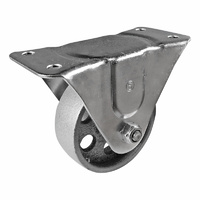 Easyroll 100mm Cast Iron I2 Series Castors 225kg 1