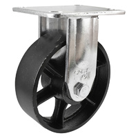 Easyroll 150mm Cast Iron J3 Series Castors 410kg 1