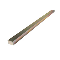 Precision Brand Square Key Steel 1x1Inch Imperial