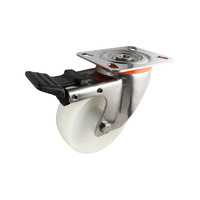 Easyroll 100mm Nylon S5 Series Castors 220kg 1PC