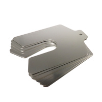 Precision Brand Slotted Shim 3x3Inchx0.010Inch 3/4