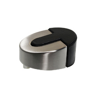 Adoored Rubber Bumper Door Stop 25mm(H) SC 1PC