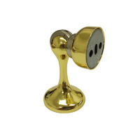 Adoored Magnetic Door Stop 68mm(L) Polished Brass