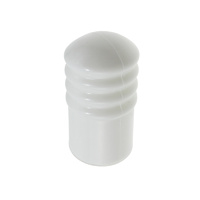 Adoored Cushion Door Stop 63mm(L) Plastic WHT 1PC