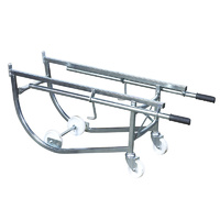Easyroll 300kg Heavy Duty Drum Rack Cradle 1PC