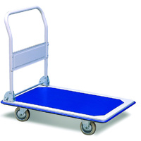 Easyroll 300kg Folding Handle Platform Trolley 1PC