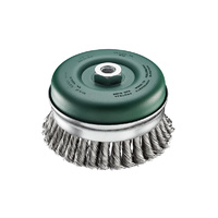 SIT Stainless Steel Twist Knot Cup Brush- 120mm x