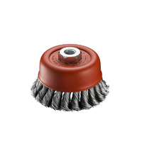 SIT Steel Twist Knot Cup Brush- 70mm x M10 1PC