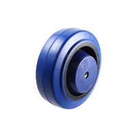 Easyroll 100mm Elastic Rubber Wheel Roller Bearing