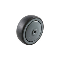 Easyroll 100mm Grey Rubber Wheel Precision Bearing