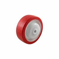 Easyroll 100mm Urethane Wheel Precision Bearings 2