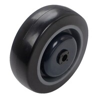 Easyroll 125mm Urethane Wheel Ball Bearings 150kg