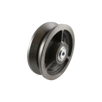 Easyroll 150mm Cast Iron Wheel Precision Bearings