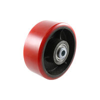 Easyroll 125mm Urethane Wheel Precision Bearings 4
