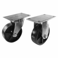 Easyroll 150mm Cast Iron J7 Series Castors 1500kg